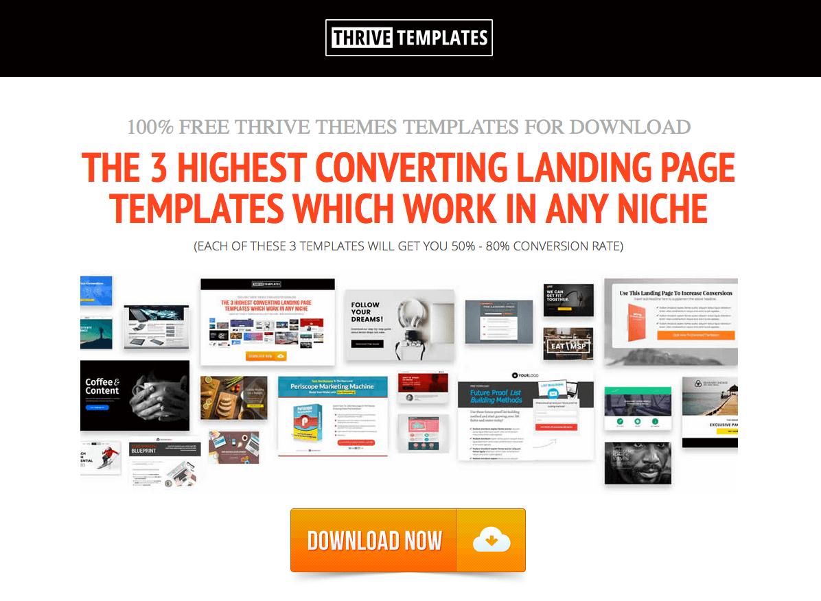 ThriveTemplates-homepage