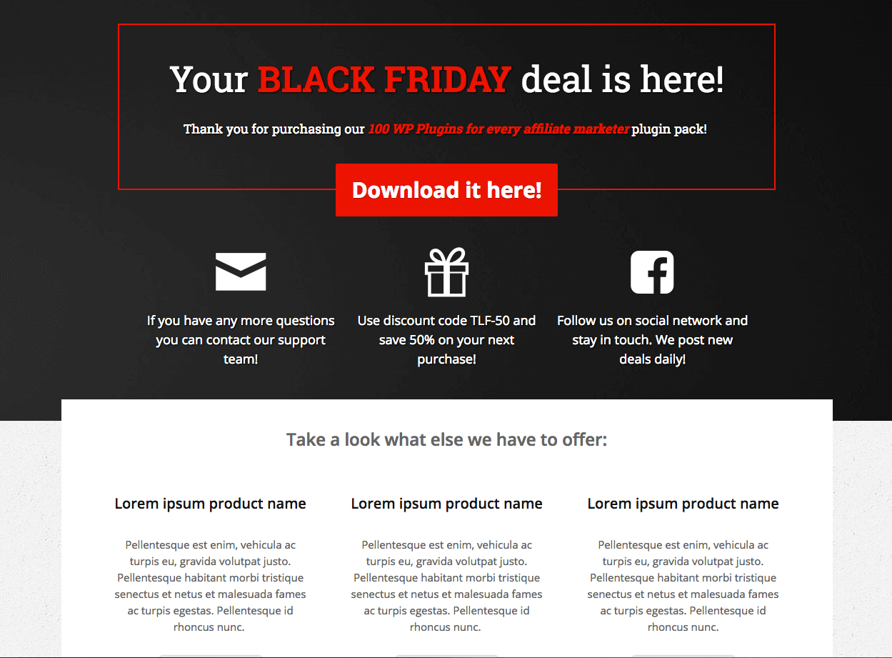 Make More Sales on Black Friday With These Landing Page Templates ...