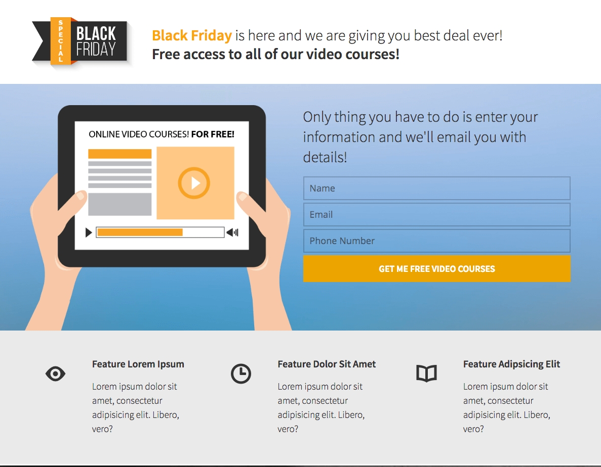 Black-Friday-Video-Course-Opt-in-Page