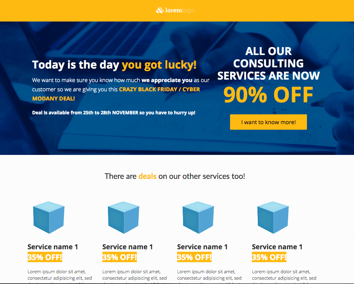 Consulting-Services-Black-Friday-Sales-Page